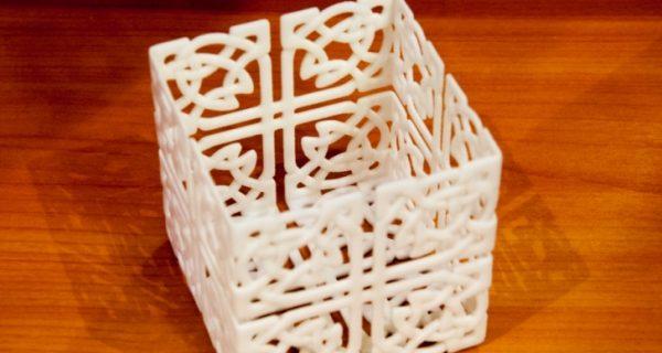 3D подсвечник для тепла и уюта в доме