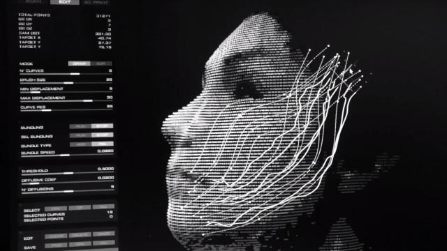 Маска созданная 3D печатью
