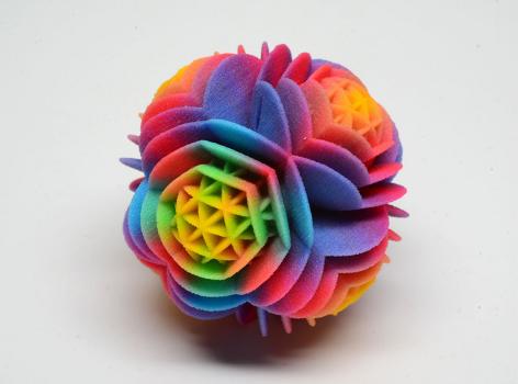 Полноцветная порошковая 3D печать