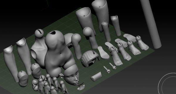 Подготовка файлов в ZBrush для 3D печати — оптимизация, масштабирование