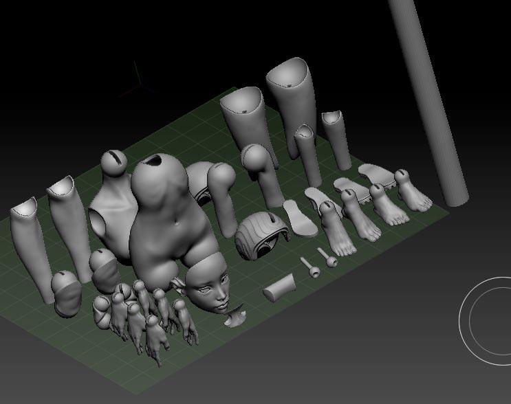 Подготовка файлов в 3D печать