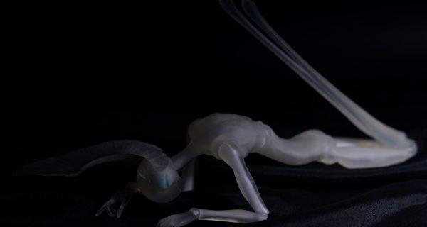 Призрачный Хиро — дитя художника и 3D-печати