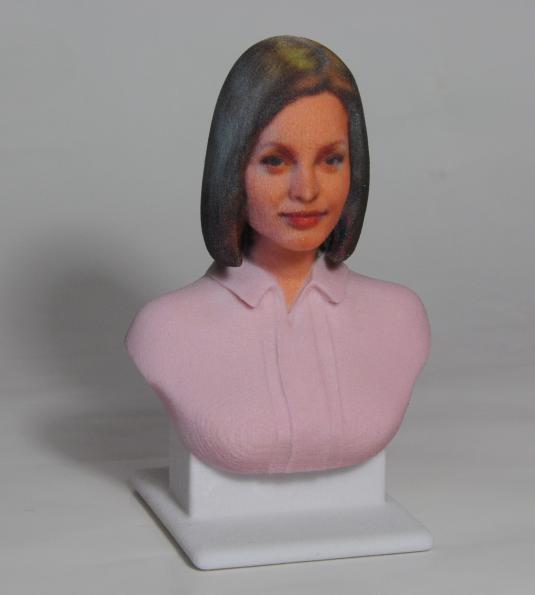 бюст 3D печать