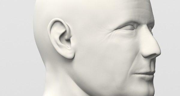Доступный Брюс Уиллис из 3D принтера