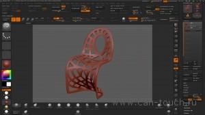 3d печать - моделирование в ZBrush (Alpha) - 10