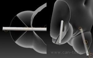 Моделирование полостей и прорезей в ZBrush