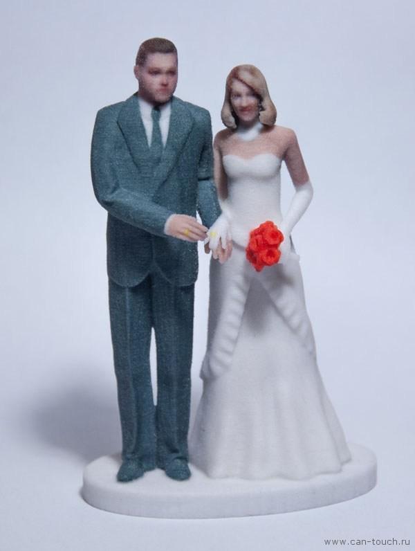 3D печать и свадебная фигурка
