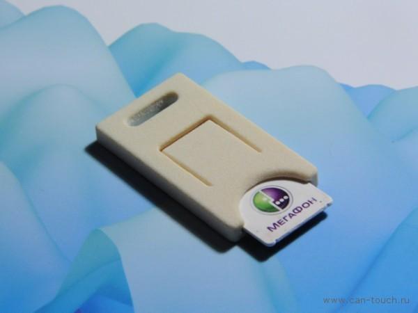 3D печать - держатель сим-карты (бизнес-сувенир)