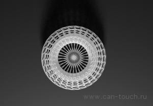 3D модель вазы для 3D печати из бежевого полиамида