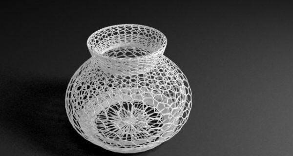 Кружевная ваза