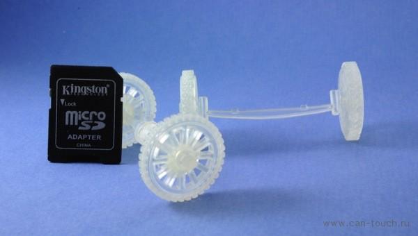 3D печать, масштабная модель автомобиля
