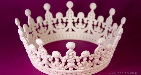 3D-печать в подарок любимой королеве