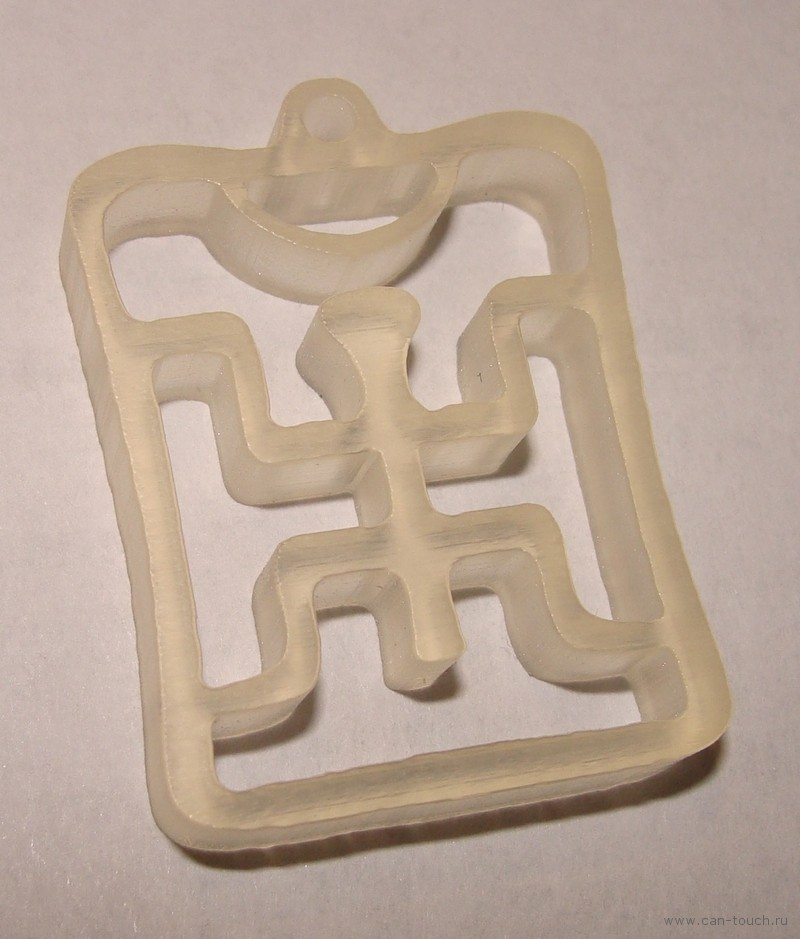 3D печать, брелок, пикник
