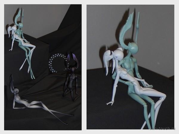bjd, 3D печать, Международный салон кукол, мастер-модель