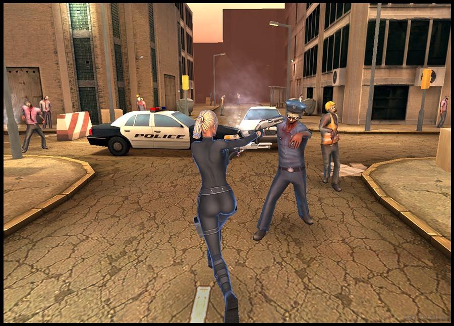 3D-модель зомби полицейского для 3D-печати can-touch.ru