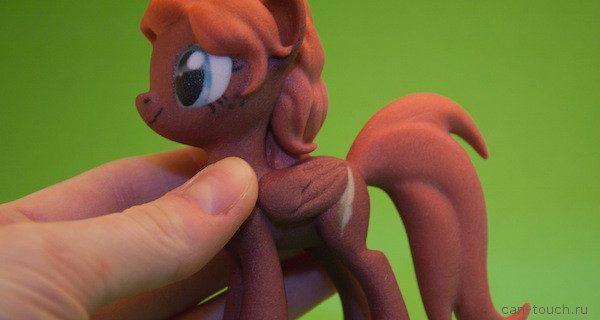 Фигурка пони — оригинальный подарок для дочери, созданный при помощи 3D-печати
