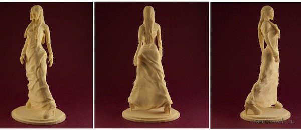 О том, как фигурка девушки, созданная при помощи 3D-печати, становится оригинальным подарком