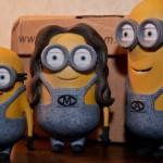 Семейка миньонов как оригинальный подарок, созданный при помощи 3D-печати