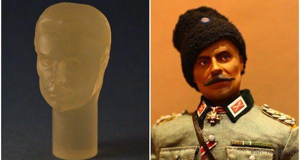 Создаем историческую фигурку при помощи 3D-печати