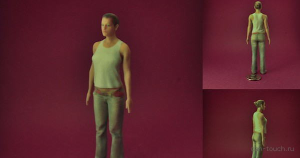 3D-печать, фигурка человека