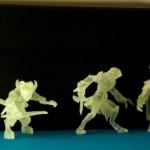 Интересные миниатюры из фотополимера, созданные при помощи 3D-печати