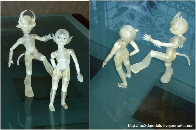 3D-печать, фотополимер, bjd