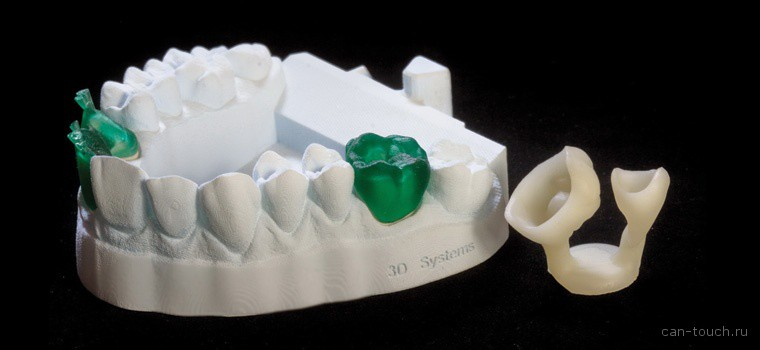 3D печать, 3D принтер, ProJet, VisiJet Pearlstone