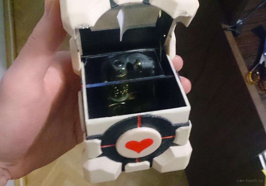 3D-моделирование, оригинальный подарок, Portal