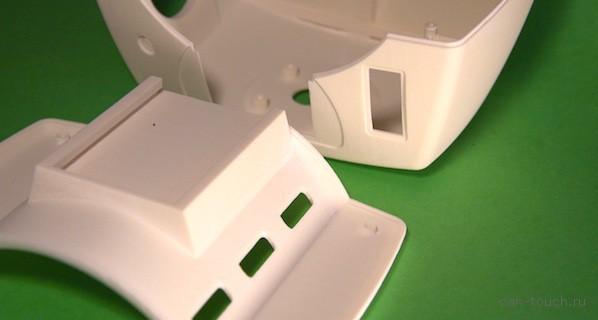 Быстрое прототипирование при помощи 3D-печати: корпус и решетка вентилятора