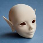 Мастер-модель bjd-эльфа, созданная при помощи 3D-печати