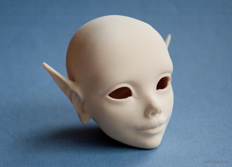 bjd, мастер-модель, 3D-печать