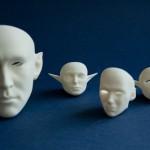 Используем 3D-печать для создания голов bjd-кукол
