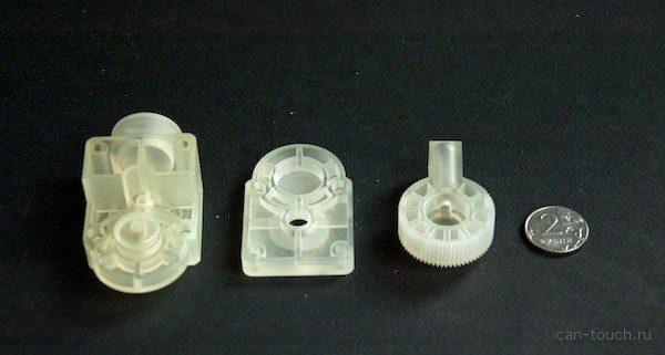 Прототип форсунки, созданный при помощи 3D-печати