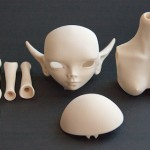 Проба пера: первые bjd-куклы, созданные при помощи 3D-печати