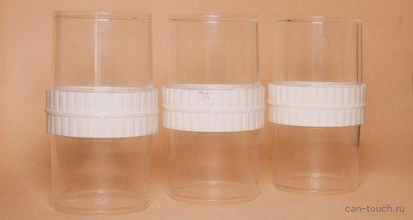 Создание демонстрационных стаканов при помощи вакуумного литья в силиконовые формы