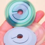 Создаем полупрозрачные крышки при помощи вакуумного литья в силикон