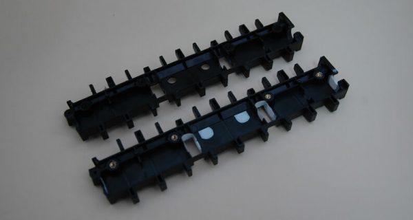 Изготовление пластиковых деталей для купюроприемника электронного кассира