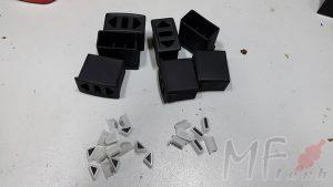 Изготовление на заказ серии пластмассовых деталей при помощи технологии вакуумного литья в силикон
