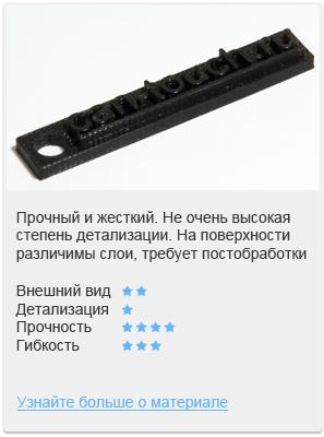 PLA, ABS-пластик