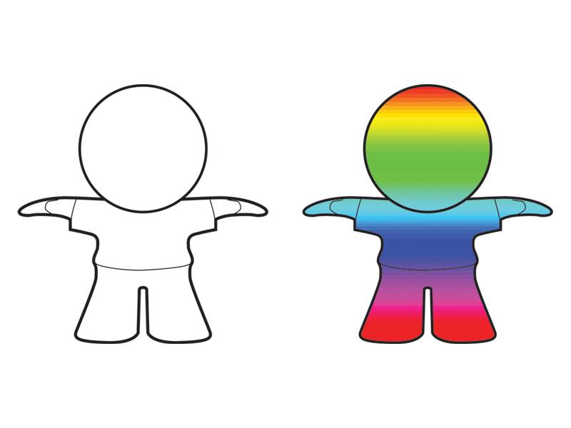 полноцветная 3D печать