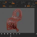Моделирование узоров в ZBrush с помощью инструмента Маска (MaskPen)
