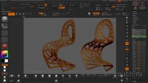 3d печать - моделирование в ZBrush (Alpha) - 15