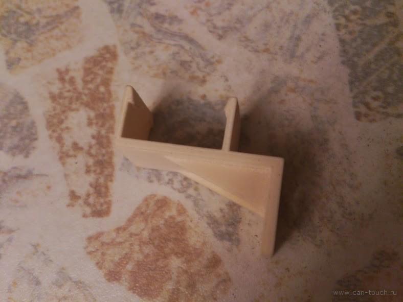 3D печать крепления для лампы