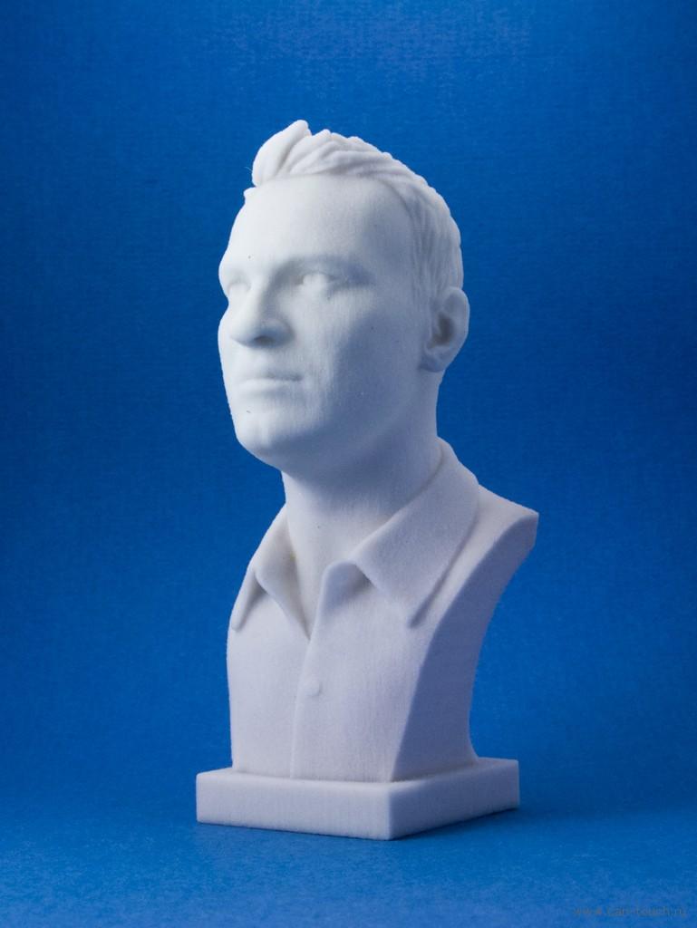 гипсовый бюст, бюст из гипса, 3D печать