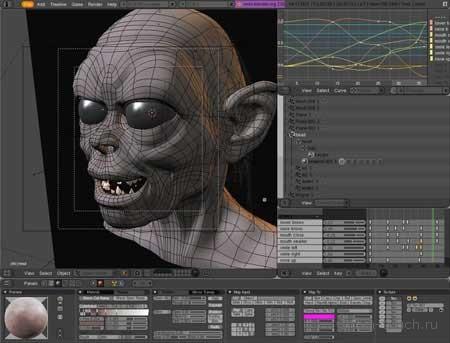 3D печать, 3D модель, Blender