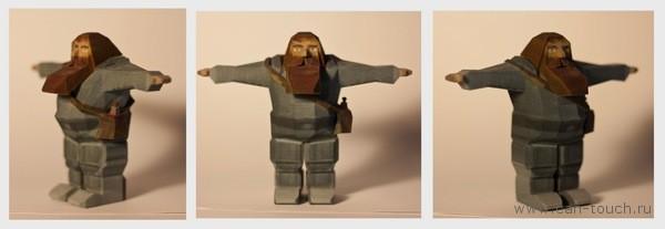 3D печать, сувенир, Гнум