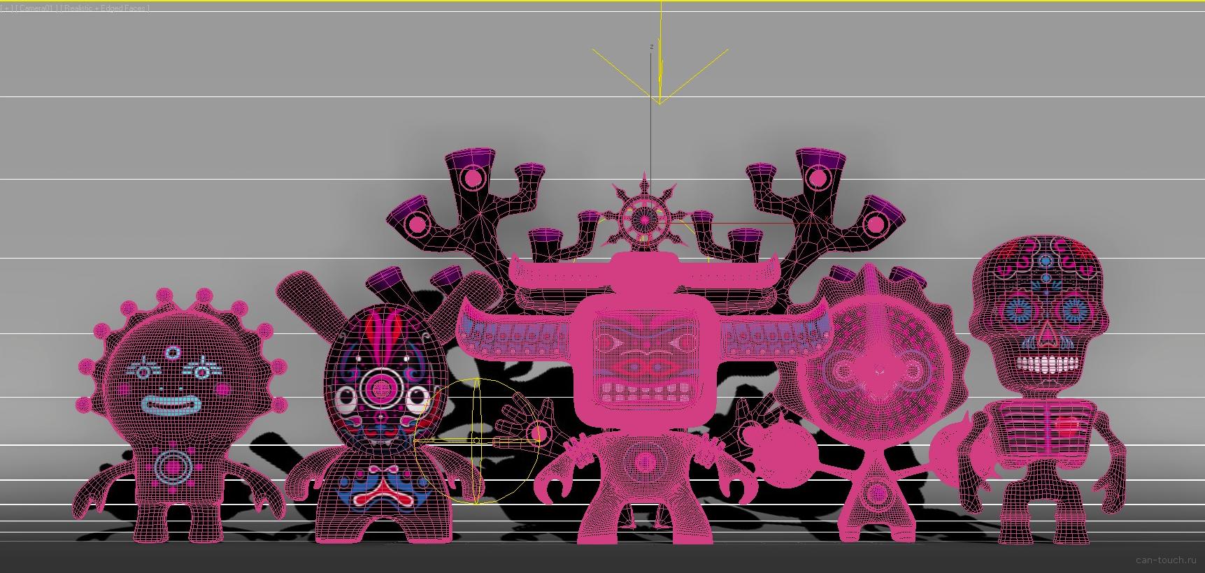 персонажи для 3d печати can-touch.ru
