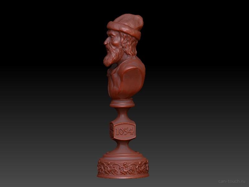 Ярослав Мудрый модель основа для штемпеля для 3D печати can-touch.ru