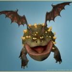 Пузатый дракон Гронкл
