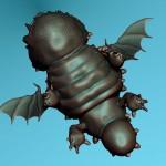Фигурка драгона 3D модель для 3D печати can-touch.com